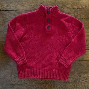 Osh Kosh boys red sweater, size 6